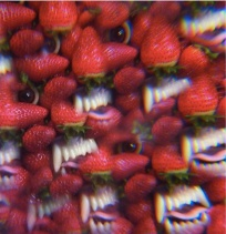 this is the cover of Floating Coffin, Thee Oh Sees latest release